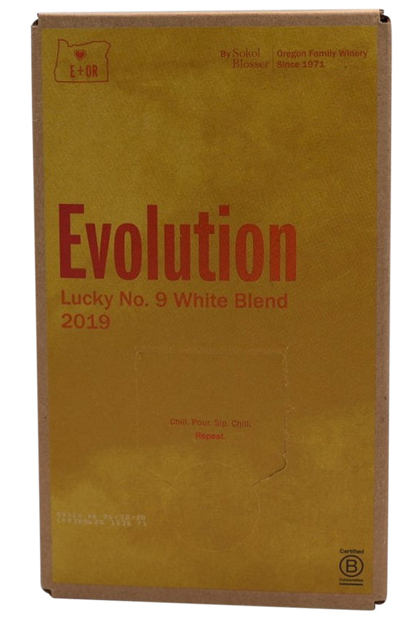 "19 Evolution ""Lucky No.9 White Blend"" - Sokol Blosser, Oregon"