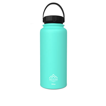 Teal 32oz Double Walled Insulated Water Bottle | Tru Flask