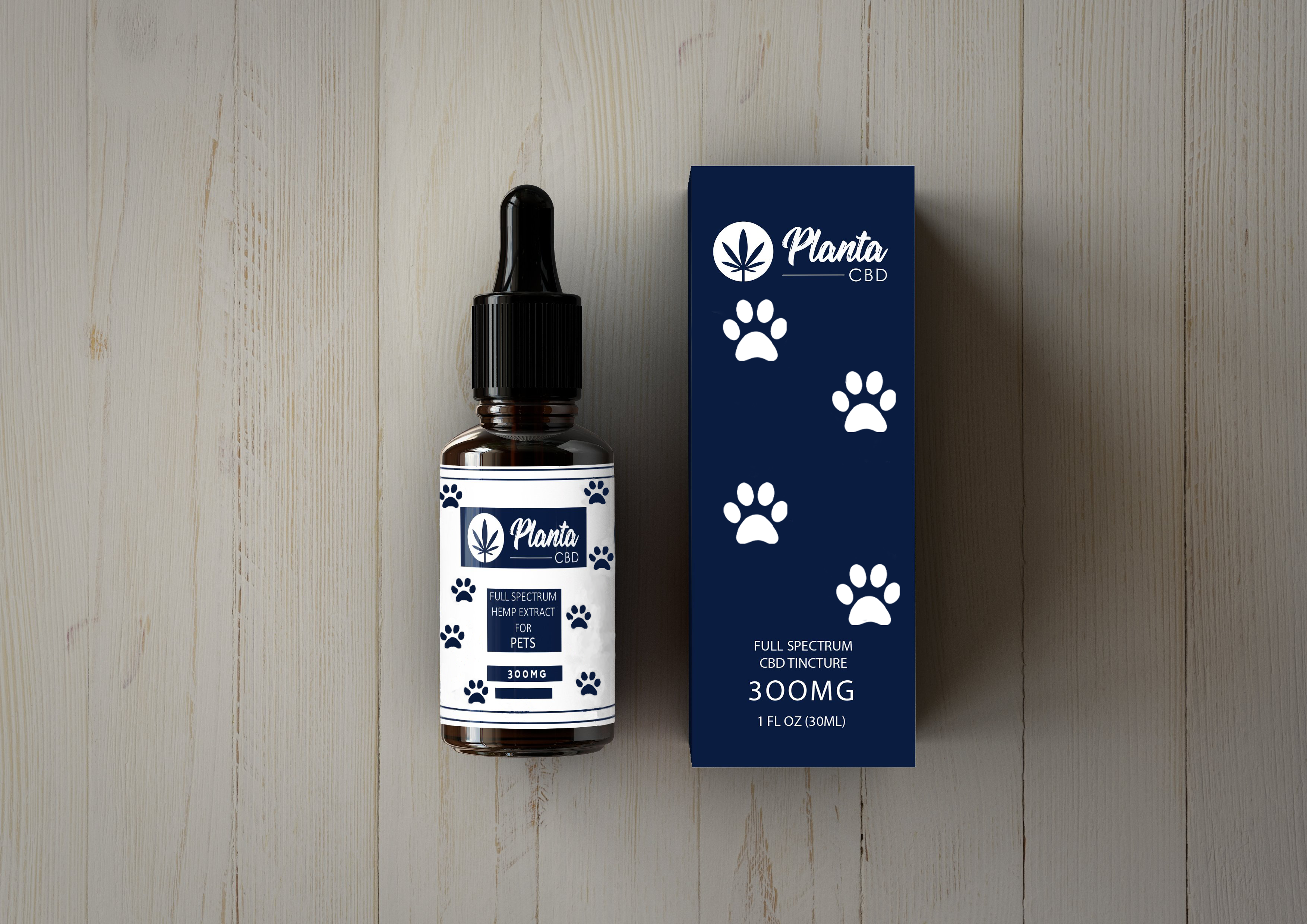 300MG Pet CBD Oil Tincture