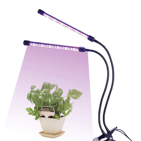 Sprig & Sprout Full Spectrum LED Indoor clip anywhere plant grow light