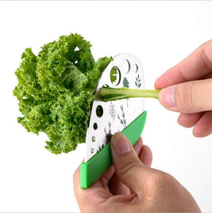 Herb Stripping Tool With Cutter