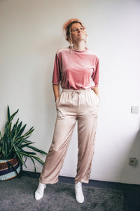 Molly satin trousers