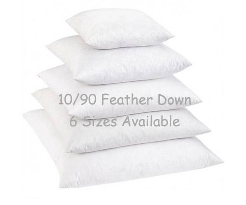 10/90 Down Pillow Insert - Land of Pillows