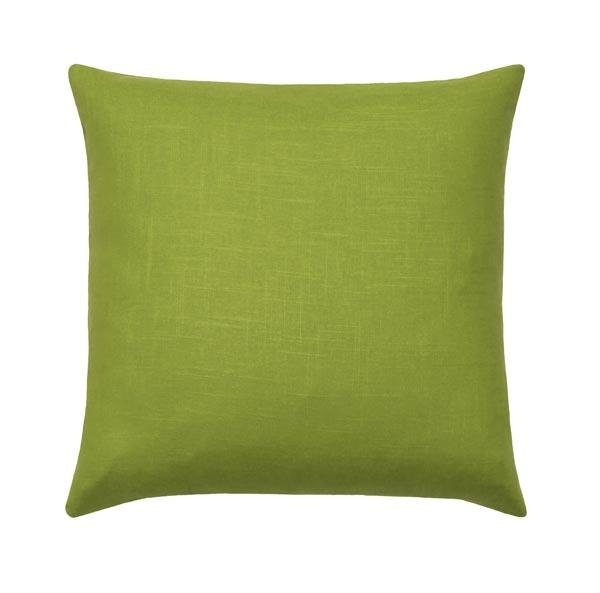 Apple Green Linen Pillow - Land of Pillows
