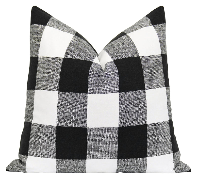 Canopy Black Stripe Pillow