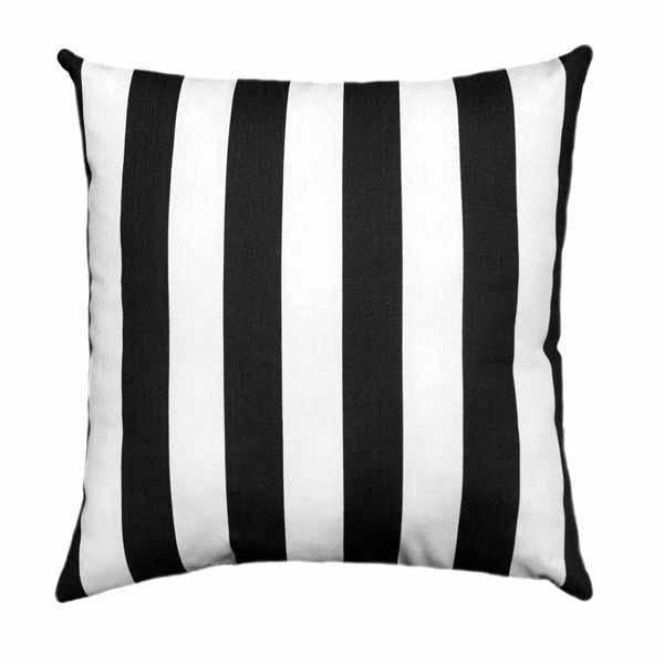 Canopy Black Stripe Pillow - Land of Pillows