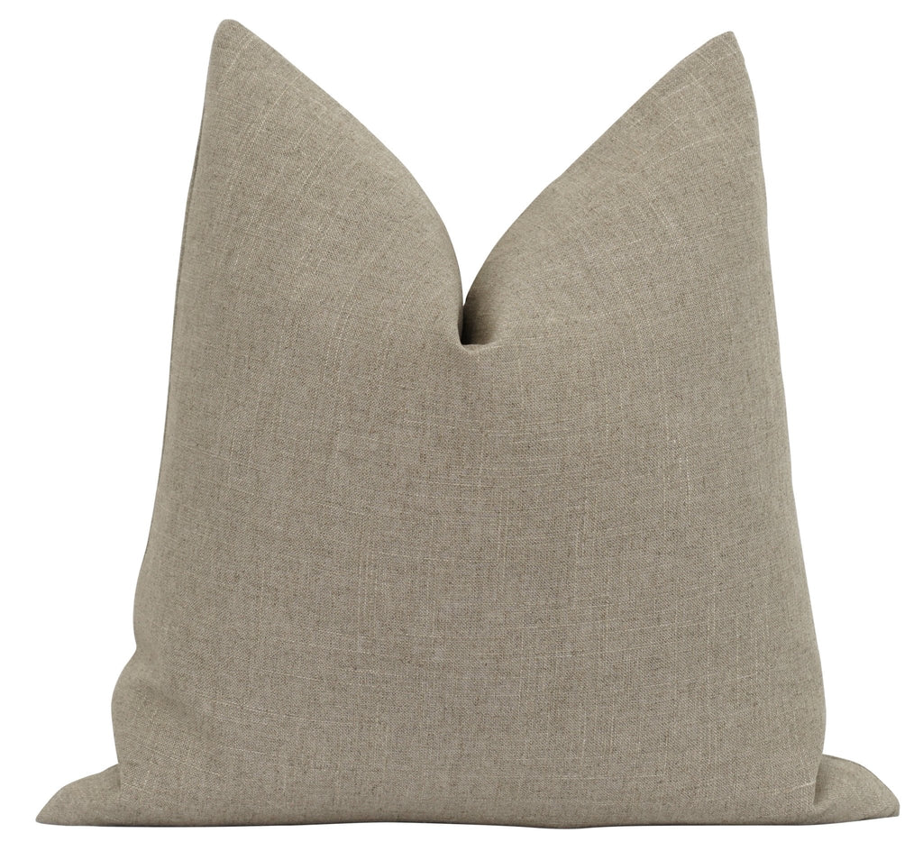 Desized Griege Linen Pillow - Land of Pillows