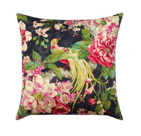 Floral Engagement Nightfall Pillow - Land of Pillows
