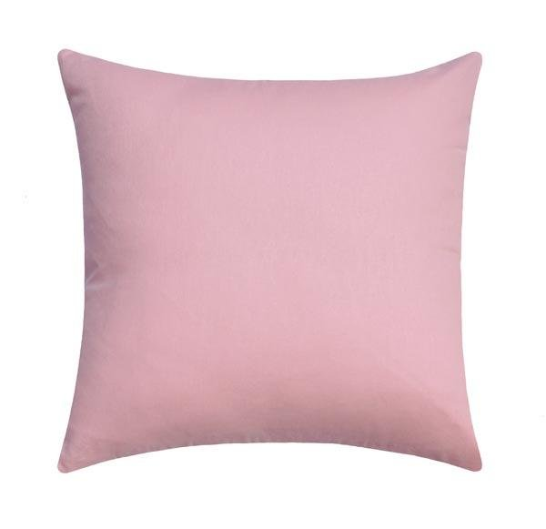 Jefferson Solid Blush Pink Linen Pillow - Land of Pillows