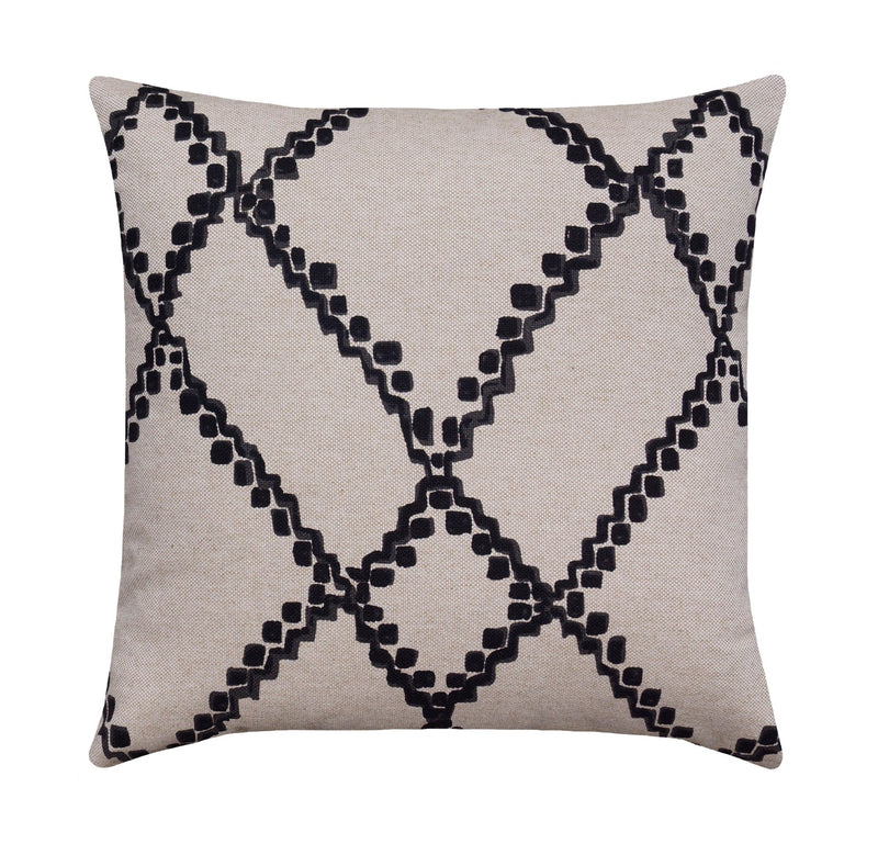 Medina Granite Batik Lattice Pillow - Land of Pillows