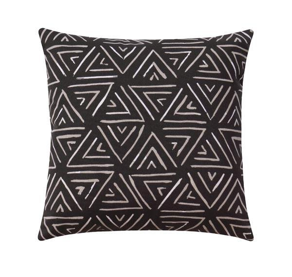 Post Modern Charcoal Pillow - Land of Pillows