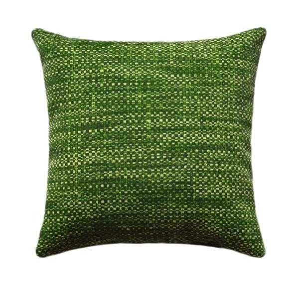 Remi Palm Green Abstract Outdoor Pillow - Land of Pillows