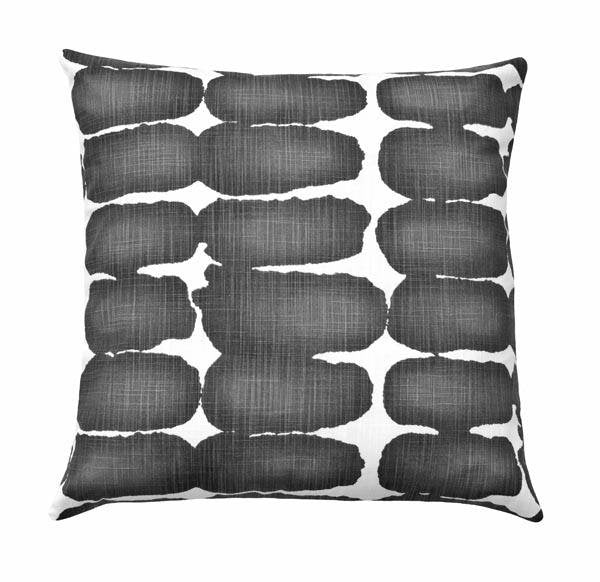 Shibori Dot Ink Pillow - Land of Pillows