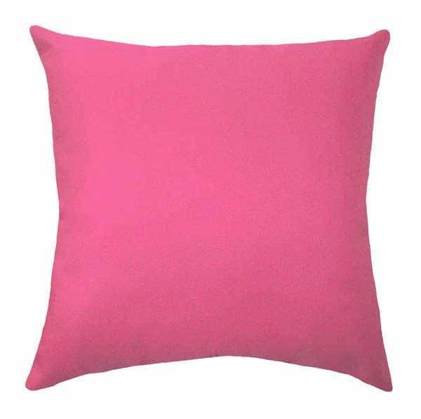 Solid Lipstick Red Pillow