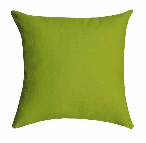 Solid Chartreuse Green Pillow - Land of Pillows