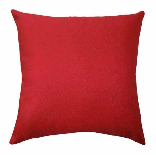 Solid Lipstick Red Pillow - Land of Pillows