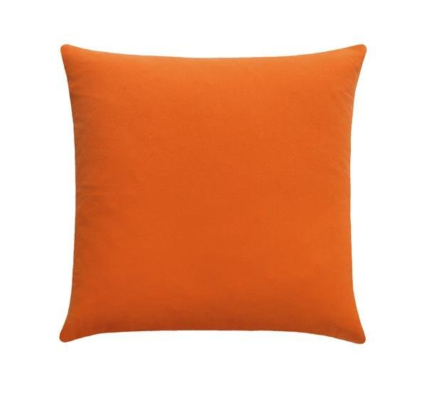 Solid Orange Throw Pillow - Land of Pillows