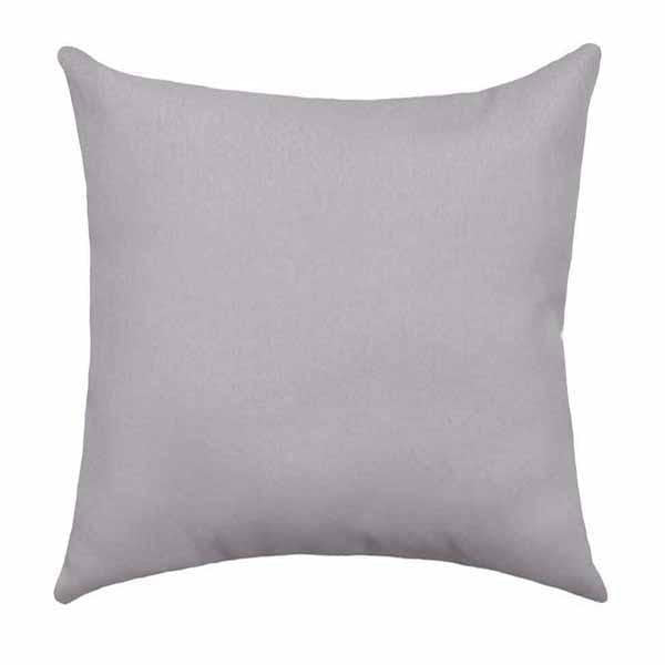 Solid Storm Grey Pillow - Land of Pillows