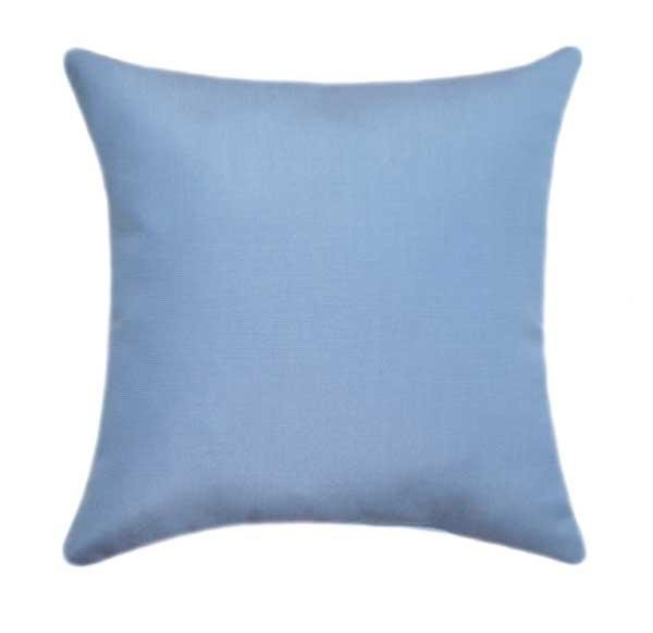 Sunbrella Canvas Air Blue Outdoor Pillow - Land of Pillows