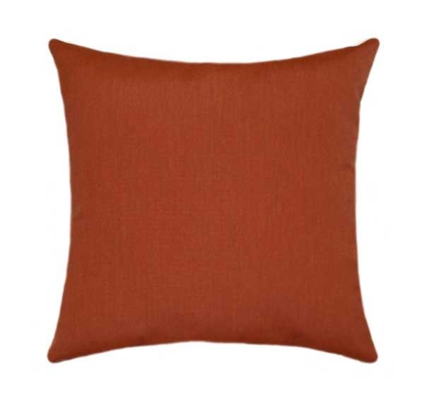 Sunbrella Canvas Brick Outdoor Pillow - Land of Pillows