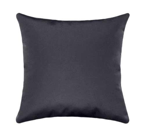Sunbrella Canvas Coal Outdoor Pillow - Land of Pillows
