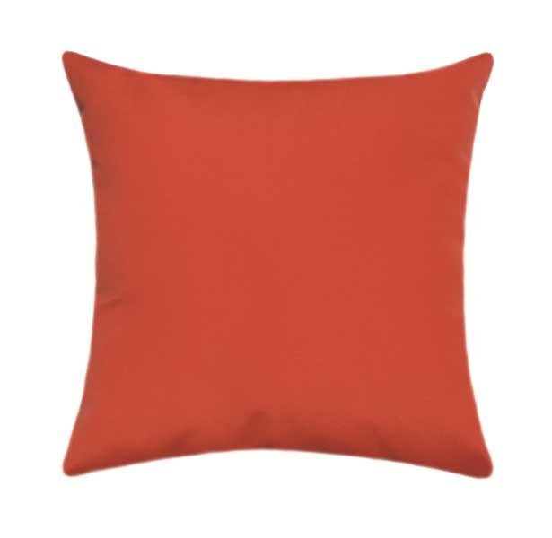 Sunbrella Canvas Melon Outdoor Pillow - Land of Pillows
