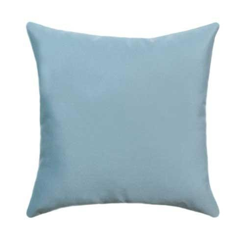 Sunbrella Canvas Mineral Blue Outdoor Pillow - Land of Pillows