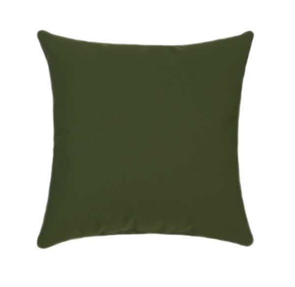 Sunbrella Canvas Palm Green Outdoor Pillow - Land of Pillows