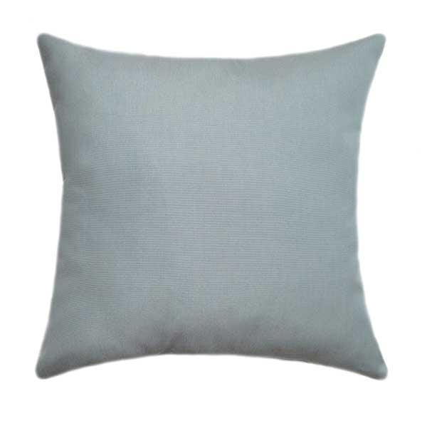 Sunbrella Canvas Spa Blue Outdoor Pillow - Land of Pillows