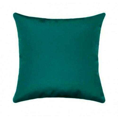 Sunbrella Canvas Teal Outdoor Pillow - Land of Pillows
