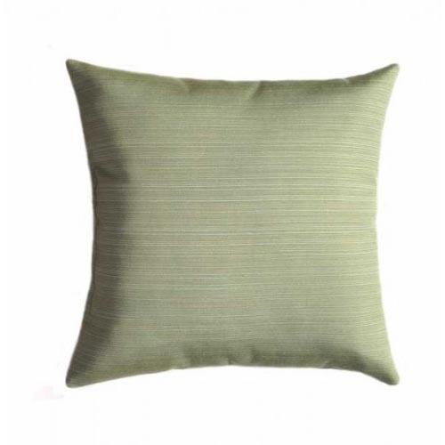 Sunbrella Dupione Aloe Green Outdoor Pillow - Land of Pillows