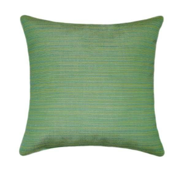 Sunbrella Dupione Paradise Green Outdoor Pillow - Land of Pillows