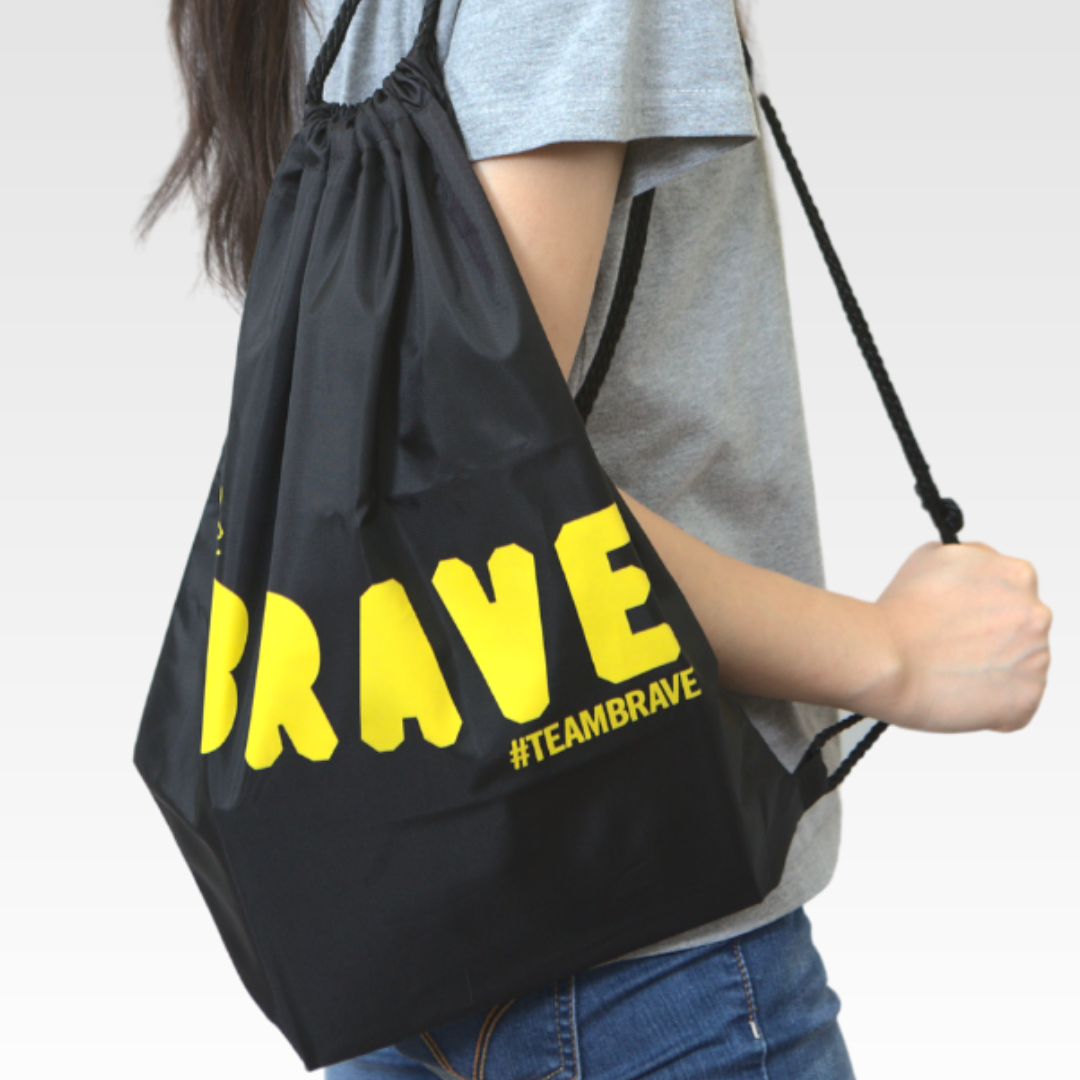 Team Brave String Bag