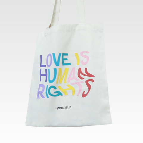 Love is Human Rights Tote Bag