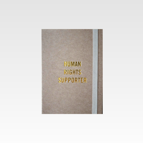 Human Rights Supporter Notebook