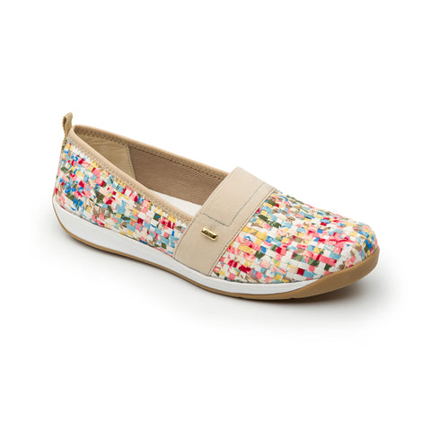 Flexi Lady's GABY Slip-On Shoe Confetti