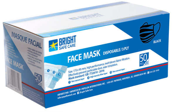 Bright Safe Care - Disposable FaceMask