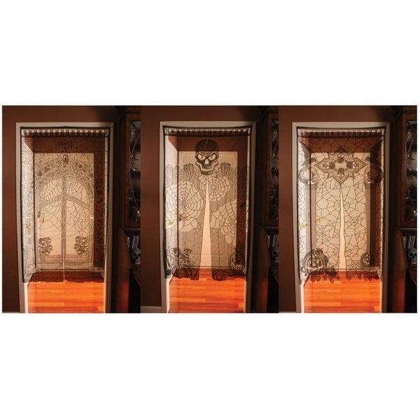 LACE DOOR COVER SKULL
