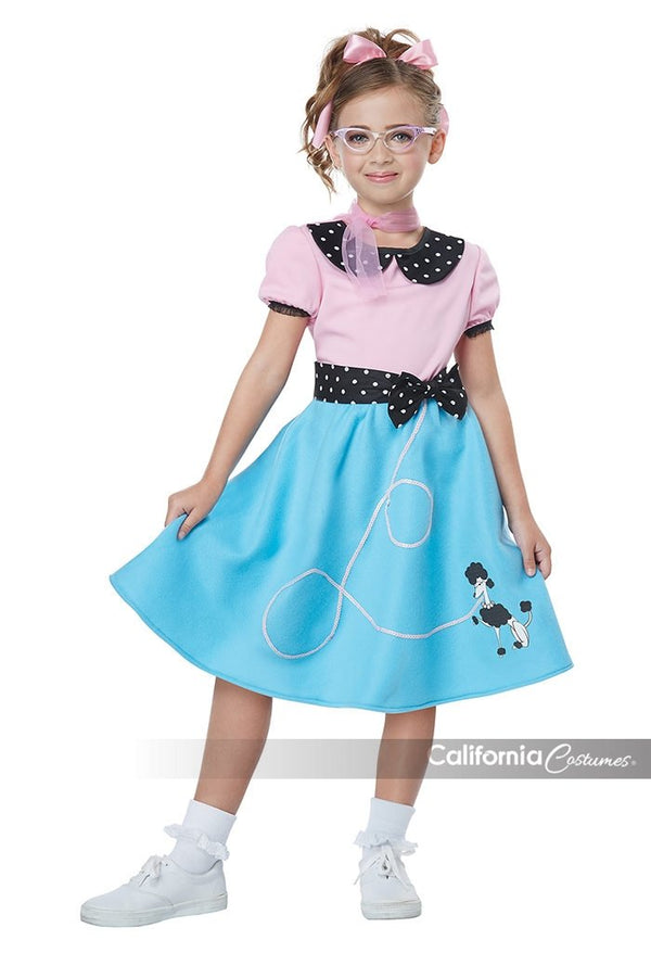 50'S SOCK HOP DRESS DE NIÑO(A)