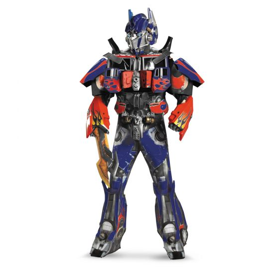 OPTIMUS PRIME THEATRICAL W VACUFORM PLUS 3D
