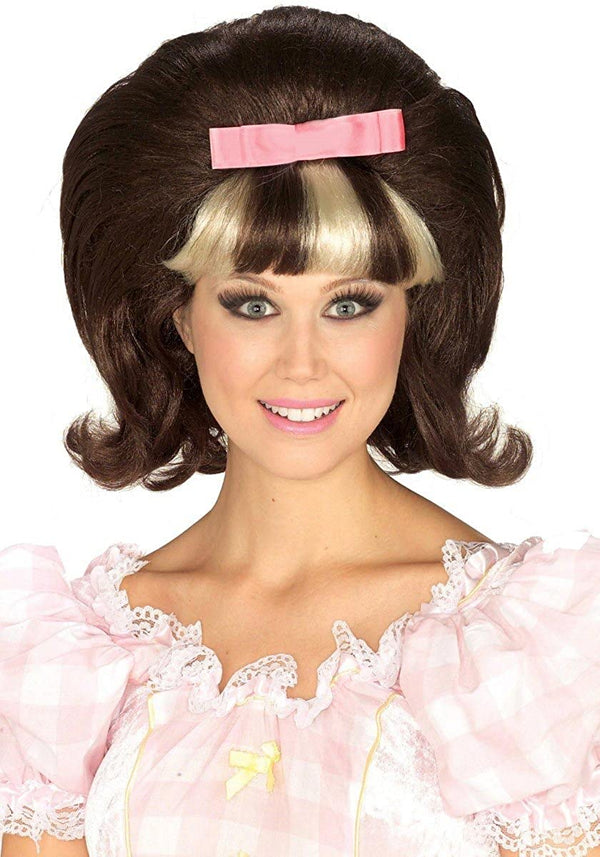 60'S PRINCESS WIG BROWN BLONDE