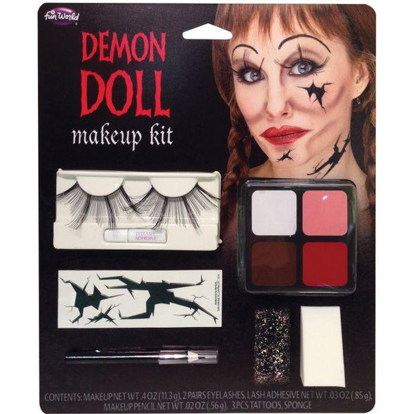 DOLL FACE M U KITS - 3 ASTD. - DEMON DOLL