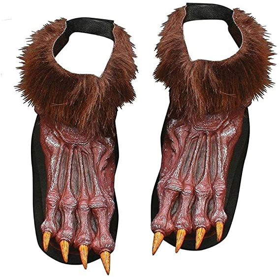 WEREWOLF SHOE COVERS BROWN