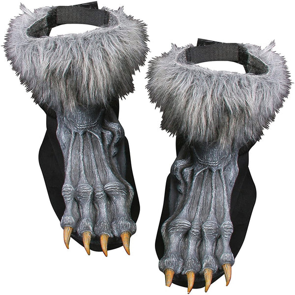WEREWOLF SHOE COVERS SILVER(GREY)