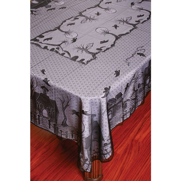 LACE TABLECLOTH HAUNTED HOUS