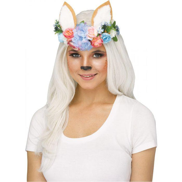 WOODLAND CRITTER HEADPIECE AST - FOX
