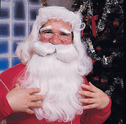 SANTA BEARD & WIG FEATURE