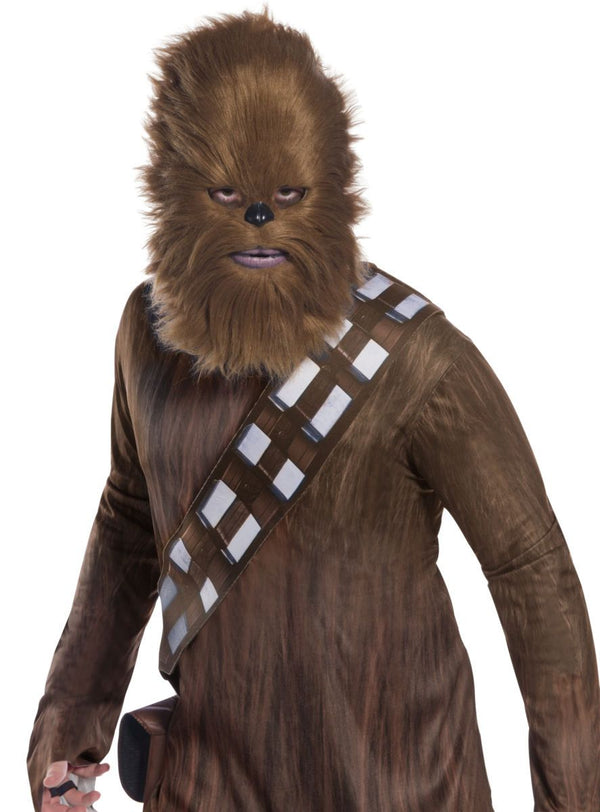 CHEWBACCA MASK W FUR