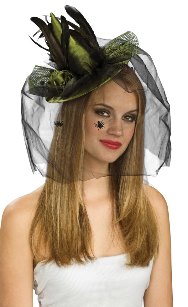 GREEN MINI WITCH HAT