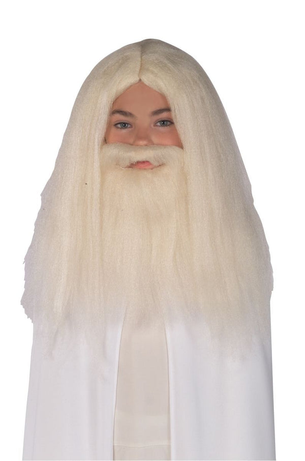GANDALF WIG-BEARD SET